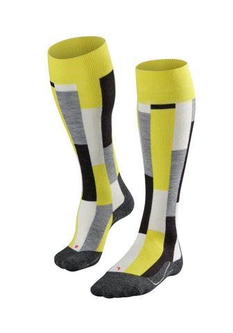 FALKE Slidinėjimo kojinės SK4 Brick Skiing (...