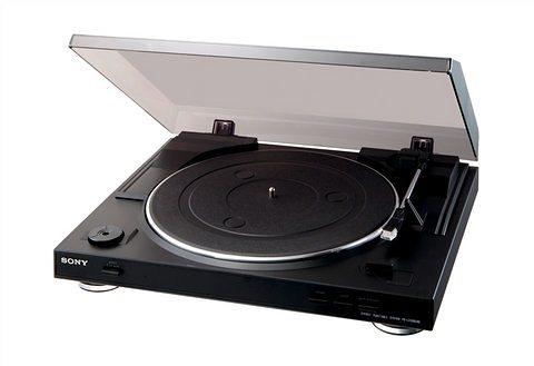Sony PS-LX300USB USB-Plattenspieler, Schallplattendigitalisierer in schwarz