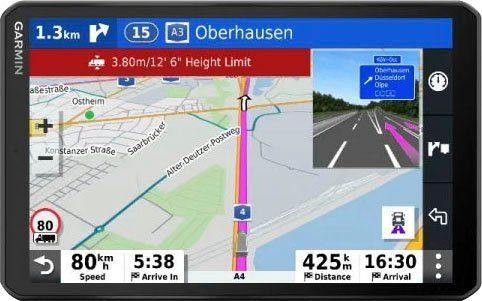 Garmin »dēzl™ LGV 800« LKW-Navigationsgerät (Europa (48 Länder)