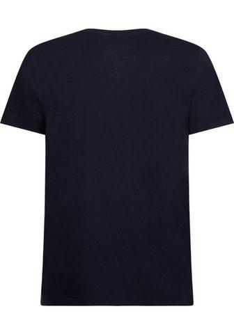 TOMMY HILFIGER Marškinėliai »CORP dryžuotas Dėžutė TE...