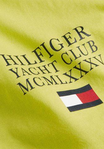 TOMMY HILFIGER Marškinėliai »YACHT CLUB TEE«