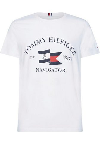 TOMMY HILFIGER Marškinėliai »ANCHOR FLAGS RELAXED for...