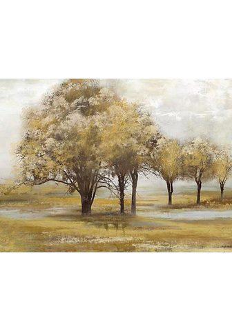 Aliejinis paveikslas »Trees«