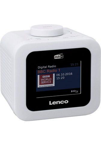 LENCO »CR-620« Radijas su laikrodžiu (Digita...