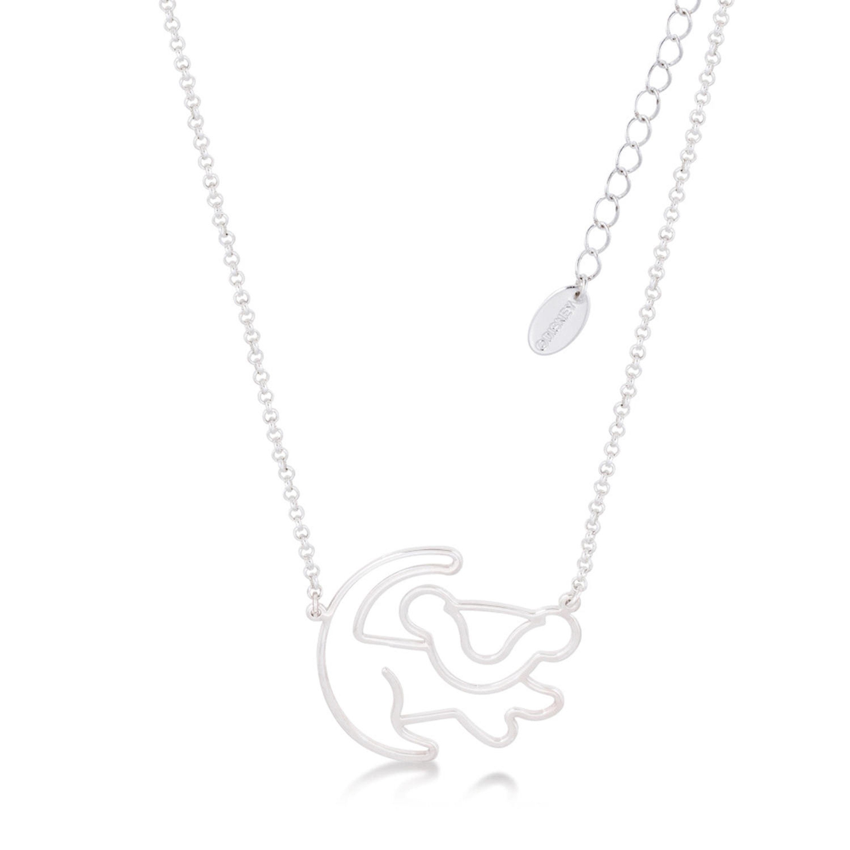 Goebel Couture Kingdom König der Löwen Halskette Simba Kette Schmuck Weißgold