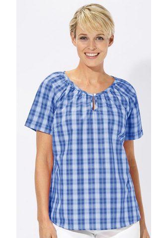Блуза с weiterem круглым вырезом