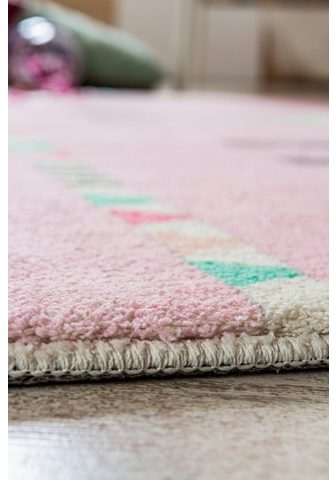 LUXOR LIVING Vaikiškas kilimas »Lama Lulu« ovali au...