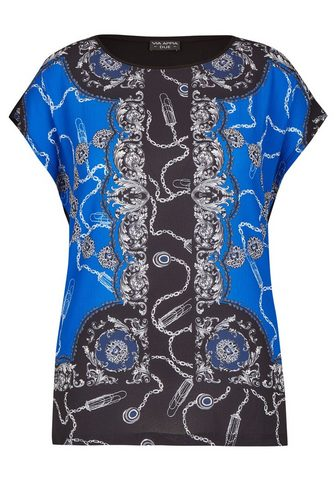 VIA APPIA DUE Gražus Marškinėliai su royalem Design ...
