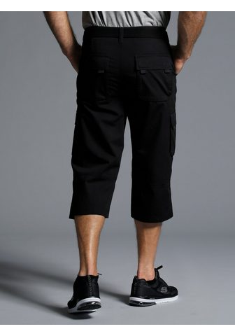 MEN PLUS BY HAPPY SIZE Bermudai su kišenėmis su diržas