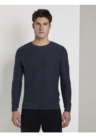Пуловер с круглым вырезом »Struk...