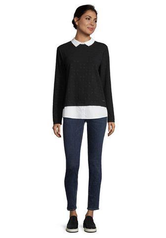 Betty&Co пуловер »mit Strukt...