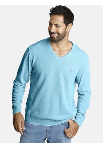 Пуловер с V-образным вырезом »LI...