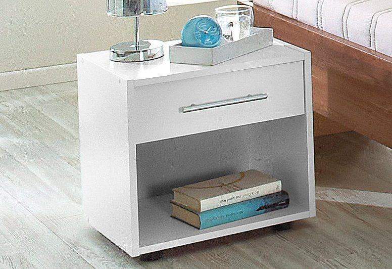 Wimex Nachttisch in weiß