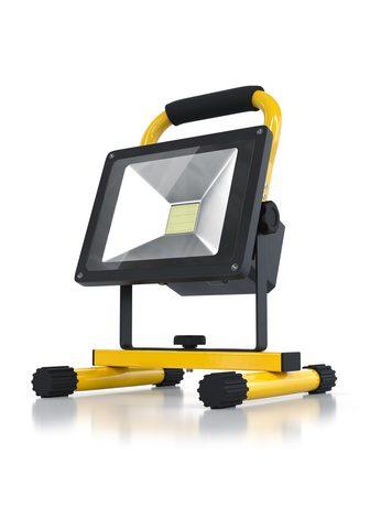BRANDSON Akumuliatorinis LED Statybinė lempa 20...