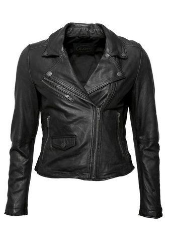 Куртка кожаная с замок »8007&laq...