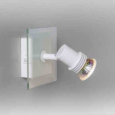 click-licht Deckenspot »Spot Sidney in Weiß GU10 1-flammig«, Deckenstrahler, Deckenspot, Aufbaustrahler