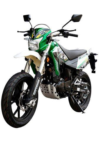 LUXXON Motociklas »Motard 125« 125 ccm 99 km/...