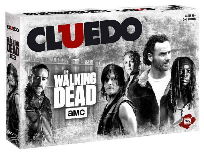 Winning Moves Spiel, Brettspiel »Cluedo The Walking Dead AMC«
