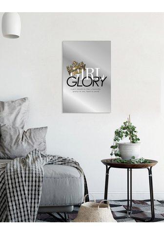 Veidrodis »Girl glory«