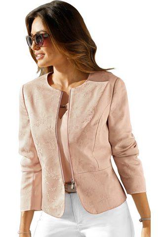 Пиджак с качествeнный цветочный жаккар...