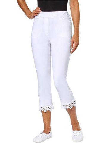 Classic Basics брюки укороченные в sup...