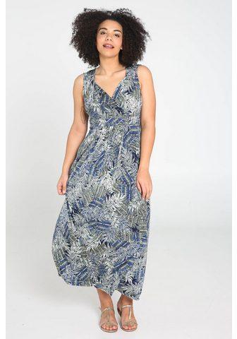 PAPRIKA Ilga suknelė »V-Ausschnitt geblümt«
