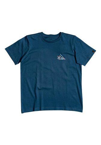 QUIKSILVER Marškinėliai »Shallow Water«
