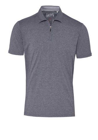 Functional рубашка поло Zipper