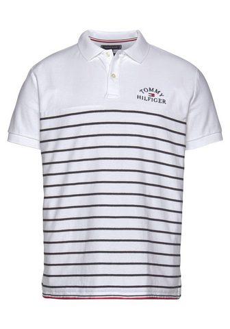 TOMMY HILFIGER Polo marškinėliai »BRETON dryžuotas TE...