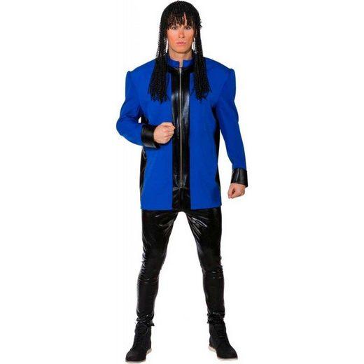 Millo Vanillo 80er Jahre Herrenkostüm blau