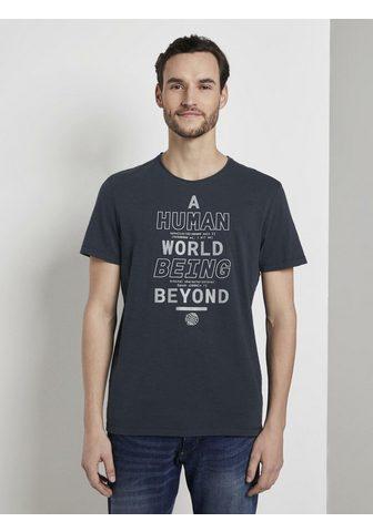 TOM TAILOR Marškinėliai Marškinėliai im Washed-Lo...