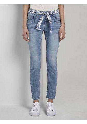 TOM TAILOR Tiesaus kirpimo džinsai »Jeans su leng...