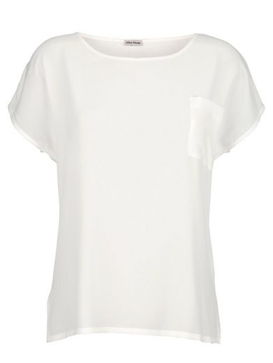 Alba Moda Shirt im modischem Materialmix