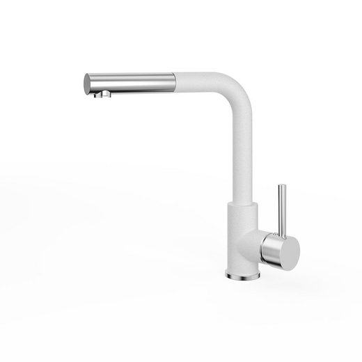 Bergstroem Küchenarmatur »Armatur Spülearmatur Wasserhahn Mischbatterie Weiß«