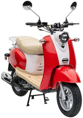 NOVA MOTORS Mofaroller »Retro Star« 50 ccm 25 km/h...