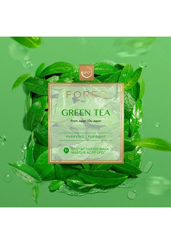 "Tuchmaske ""Green Tea"""