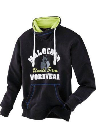 Пуловер с капюшоном с капюшон