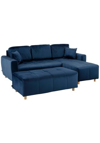 HOME AFFAIRE Kampinė sofa »Scania« (2 Teile)