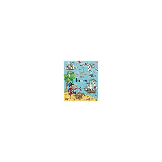 Usborne Verlag Mein erstes Spiel-, Mal- und Ratebuch: Piraten