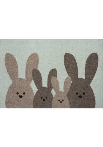 HANSE HOME Durų kilimėlis »Bunny Family« rechteck...
