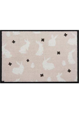 HANSE HOME Durų kilimėlis »Easter Rabbit« rechtec...