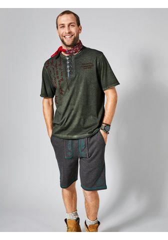 MEN PLUS BY HAPPY SIZE Tautinio stiliaus šortai