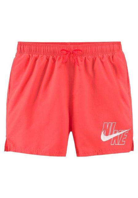 Nike Badeshorts, mit Markenlogo am Bein