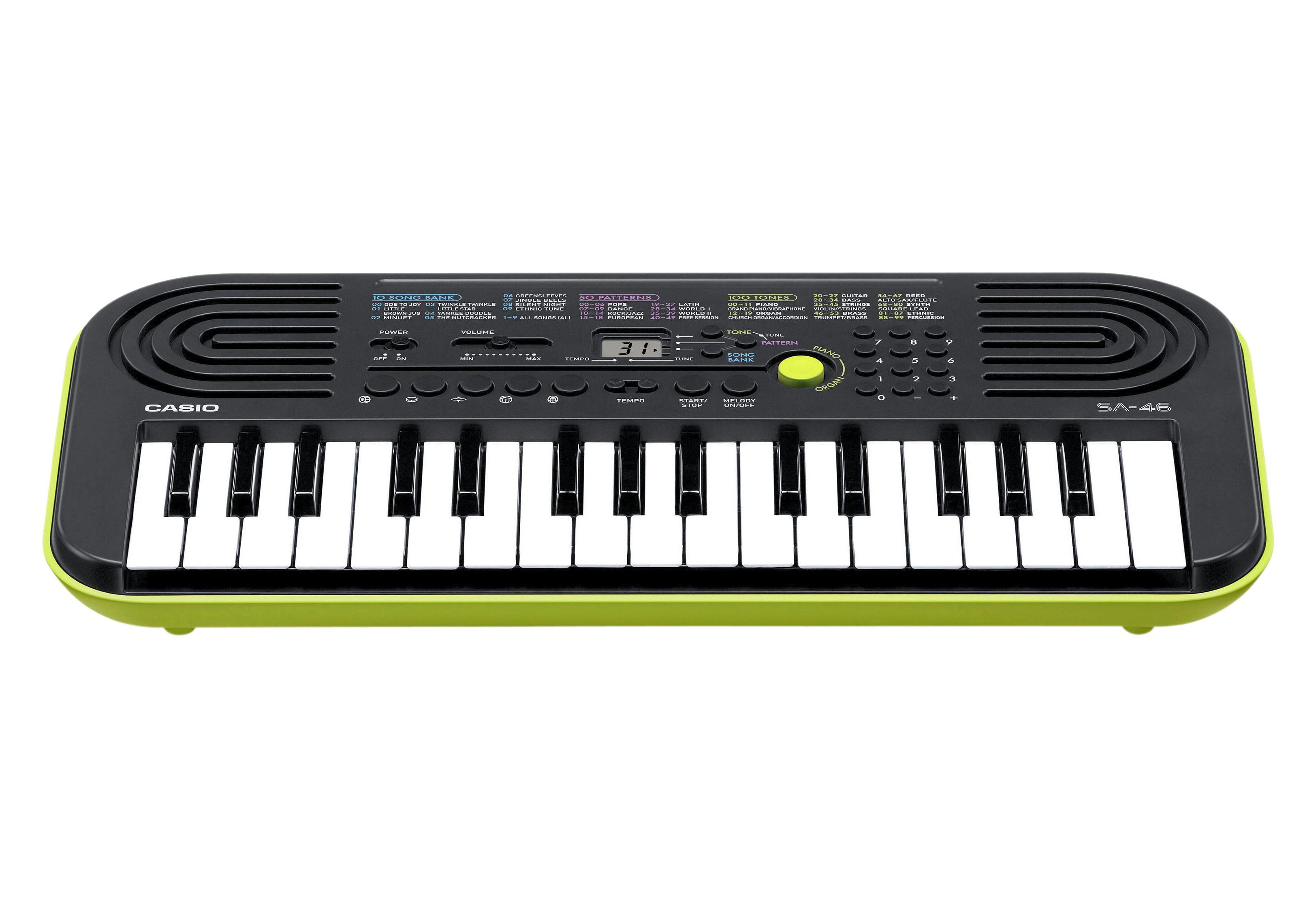 Casio® Mini Keyboard, »SA-46«