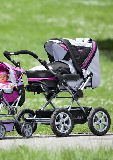 CHIC4BABY Kombi-Kinderwagen »Viva«, mit Lufträdern