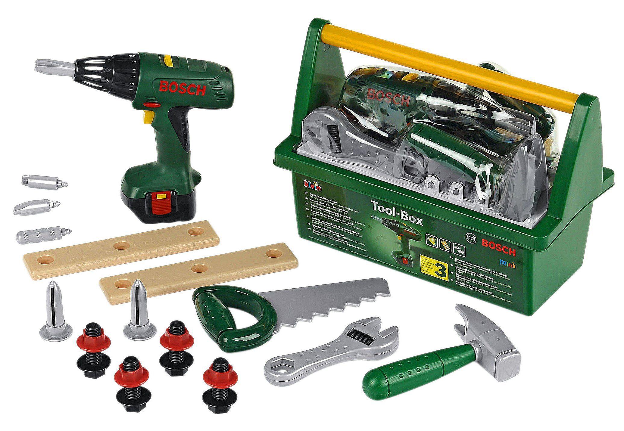 Klein Kinder Werkzeug-Box »Bosch«