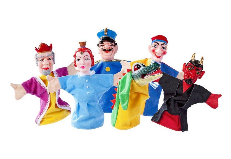 Simba 6-tlg. Set Handpuppen für das Puppentheater »Kasperlefiguren«