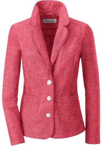 Inspirationen пиджак с накладка для пл...