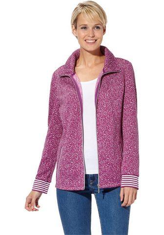 Флисовый пуловер в модный Melange-Opti...