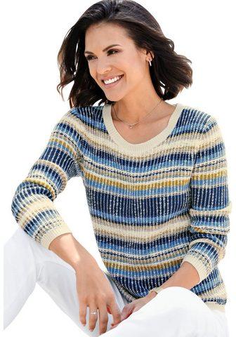 Пуловер в Strukturstrick